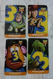 Toy Story 3 Card size calender #CNYGA