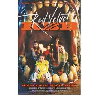RED VELVET - RBB ( REALLY BAD BOY )