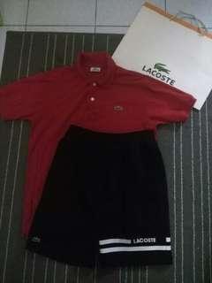 Lacoste Combo Polo & Short