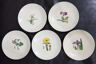Floral cake plate (x5) #singles1111