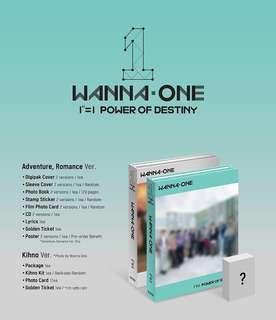 Wanna One - Power of Destiny Kihno version