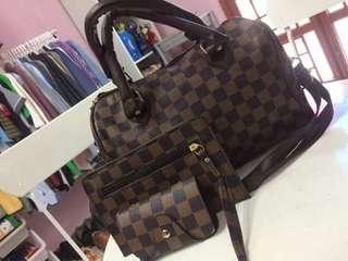 Ladies bag 2 design set combo x 3