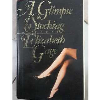 A Glimpse of Stocking by Elizabeth Gage #POST1111