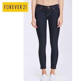 Bnwt Forever 21 Maong Pants Size 30