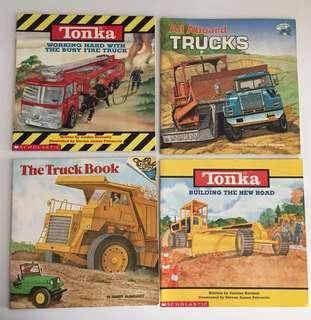 Tonka Truck Books