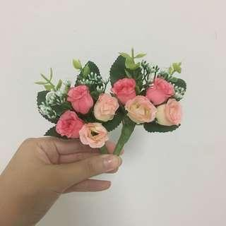 Artificial Flower Boutonniere handmade