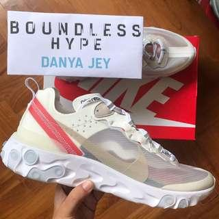 🚚 Customer's Order: Nike React Element 87 Sail Light Bone