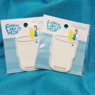 代購🎀杯緣子Memo 紙 / Removable adhesive paper 🎀 Fuchico On The Cup