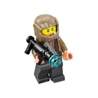 Lego 75131 Star Wars Resistance Trooper Battle Pack: Resistance Trooper with Furrowed Eyebrows Minifigure