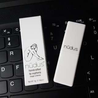 澳洲nudus organic handcrafted lip euphoria 有機手工製唇膏lipstick #消費不浪費