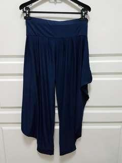 Navy blue aladdin pants (fit M to XL)