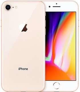 NEW IPHONE 8 - GOLD AND WHITE - 68G - AUSTRALIA ONLY