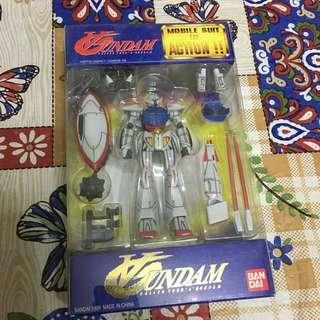高達 Gundam Mobile Suit in Action MIA 1/144 Turn A Gundam 逆A鋼彈 月光蝶 白色人偶 珍藏 絕版 1999年 附流星鎚 保存良好 沒有變黃