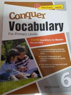 Conquer Vocabulary Pri 6