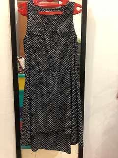 Gaudi Dress Blue Navy - L