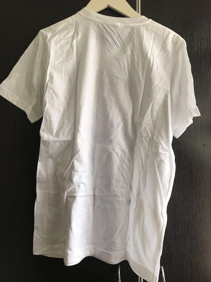 購自泰國🇹🇭毛毛 毛怪 Sulley 白色 Tee T-Shirt 男裝 女裝 (男女可穿)