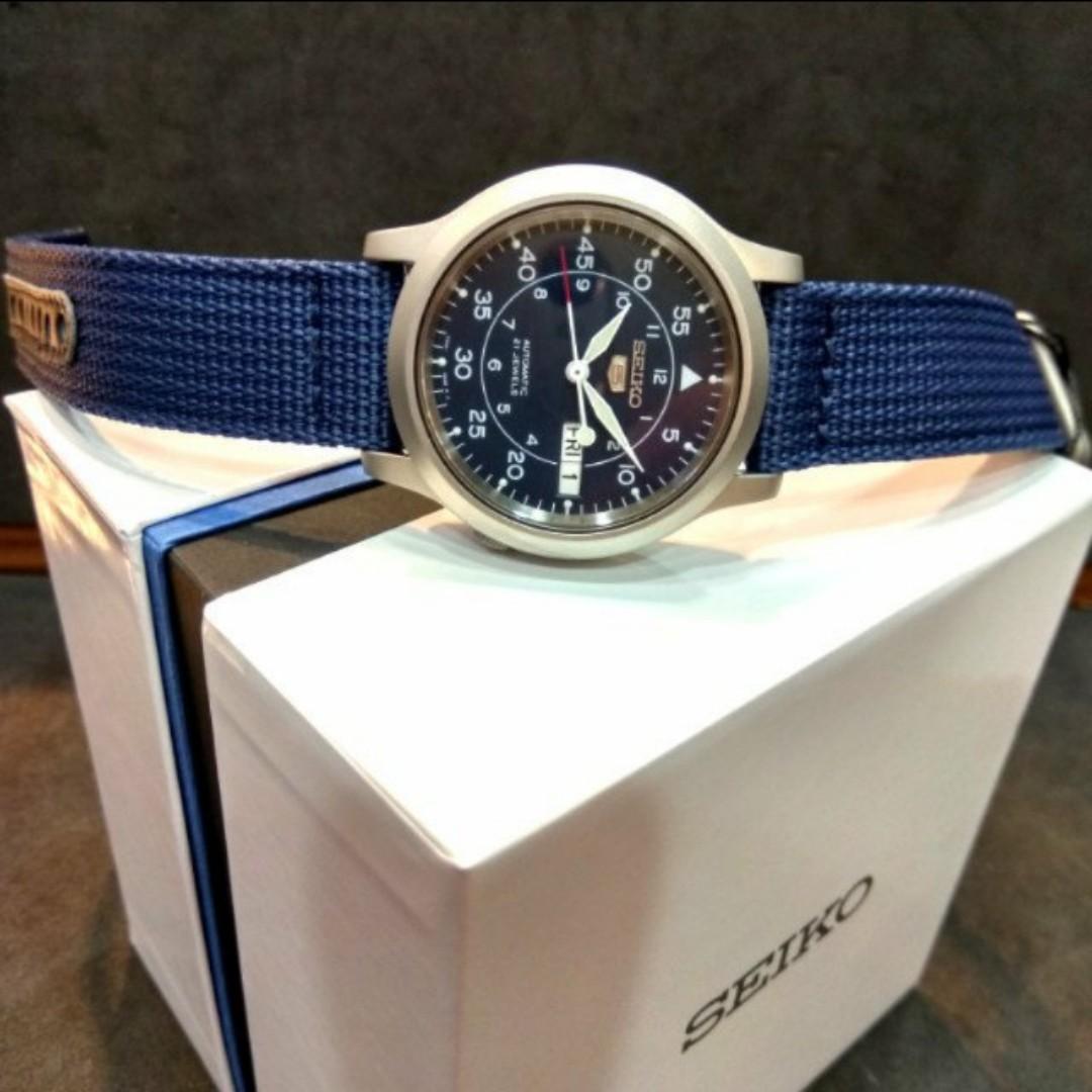 Christmas Sale Seiko 5 Automatic Military Watch