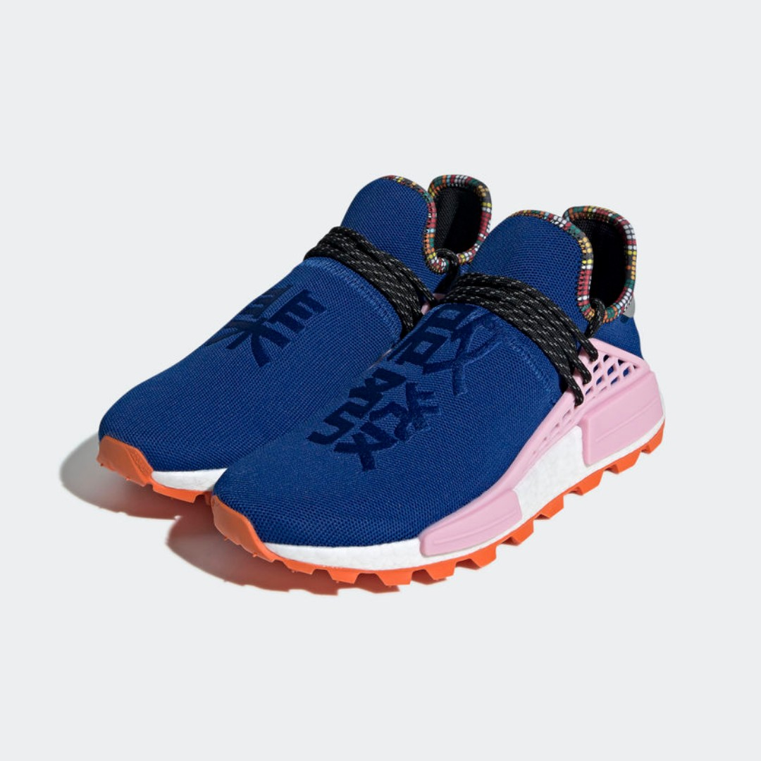 cee51352b Authentic Pharrell x Adidas NMD Human Race  Inspiration Pack  Blue ...