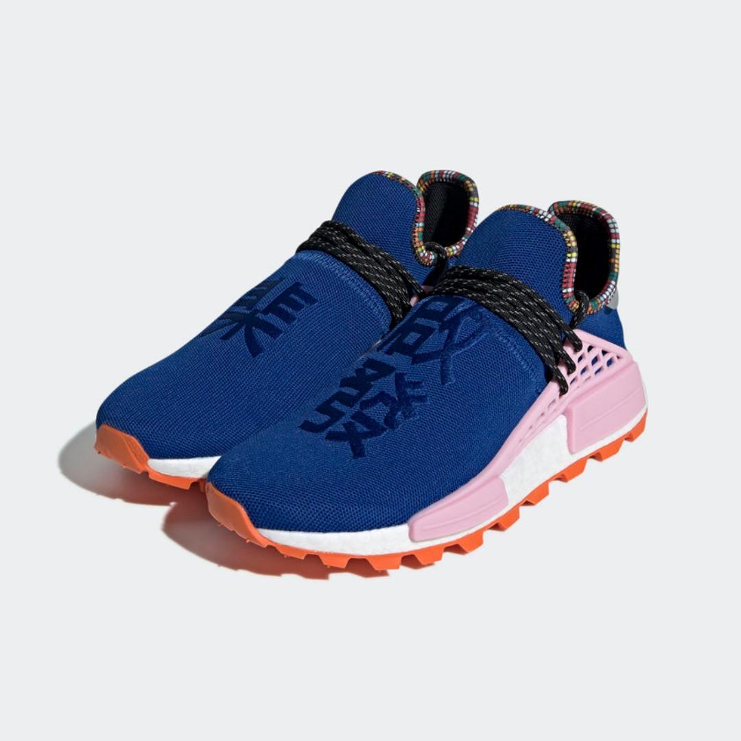 a5e0a6fbdefb7 Authentic Pharrell x Adidas NMD Human Race  Inspiration Pack  Blue ...