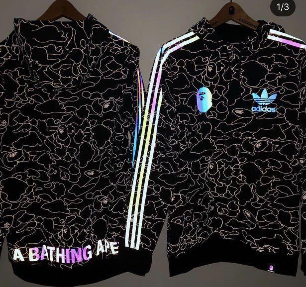 adidas x bape tech hoodie