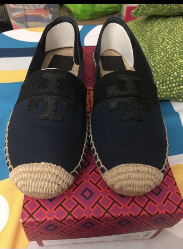 cbbd33828ed4 BNIB 💯% Authentic Tory Burch Espadrille Shoes US size 8