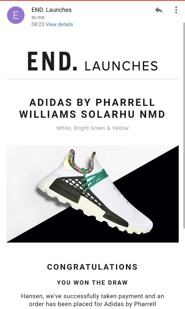 4d6cf79bdf3e0 BNIB) WTS WTT Adidas Pharrell William SOLARHU inspiration (White ...