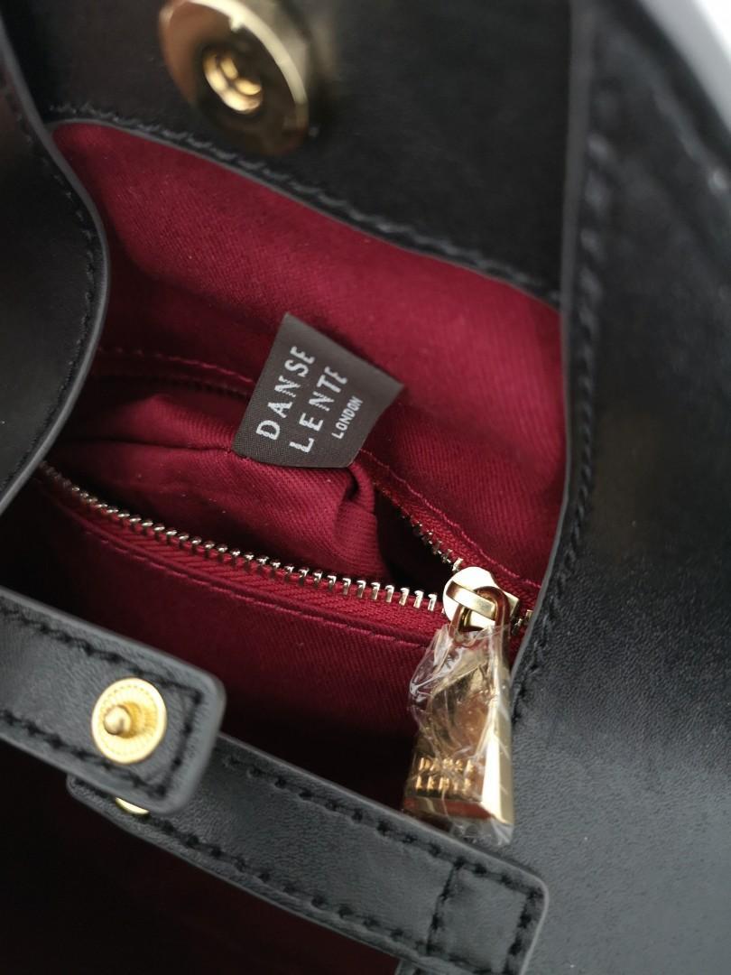 SALE Authentic Danse Lente mini Johnny leather shoulder bag