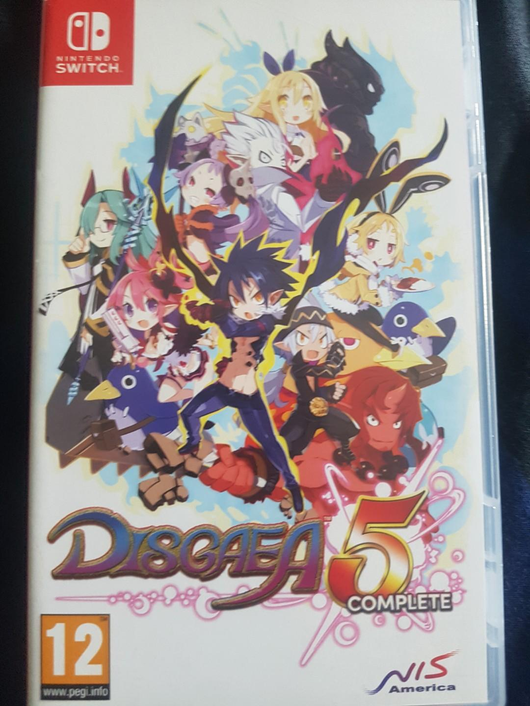 DISGAEA 5 complete Switch, Toys & Games, Video Gaming, Video