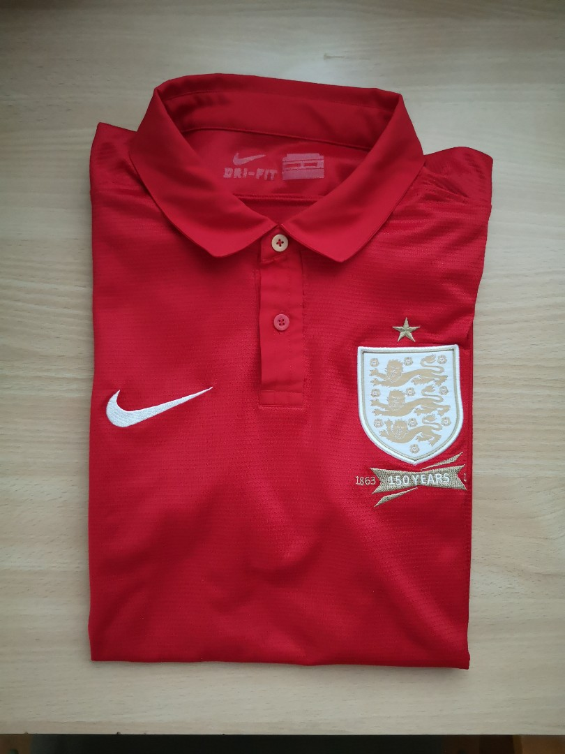 ad014d70 England Football Polo Team Shirt - DREAMWORKS