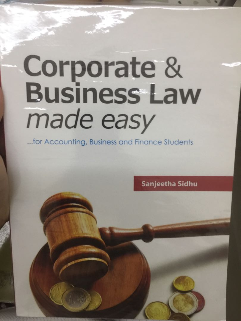 F4 Corporate and Business Law Textbook (Accounting)