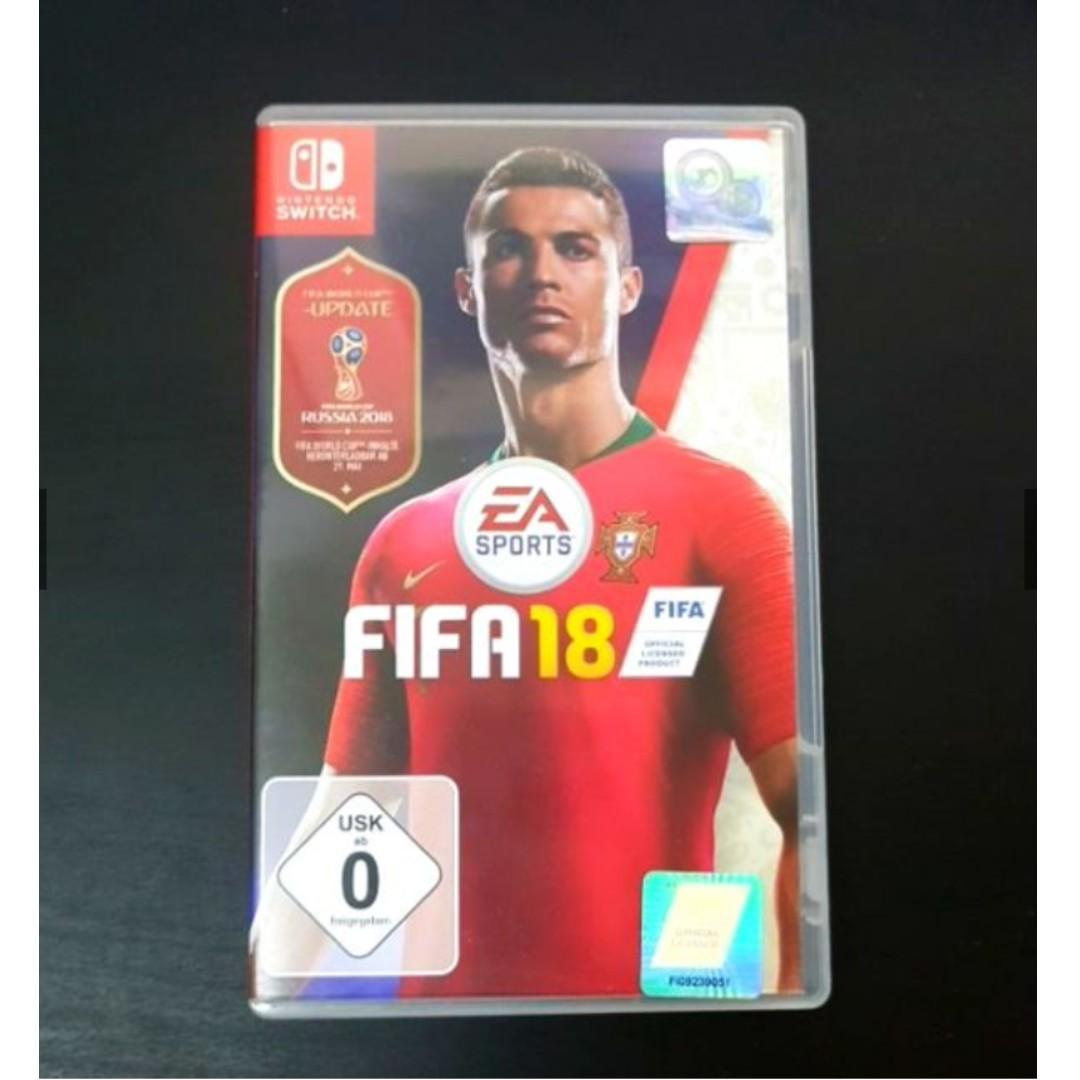 FIFA 18 Nintendo Switch with World Cup Updates