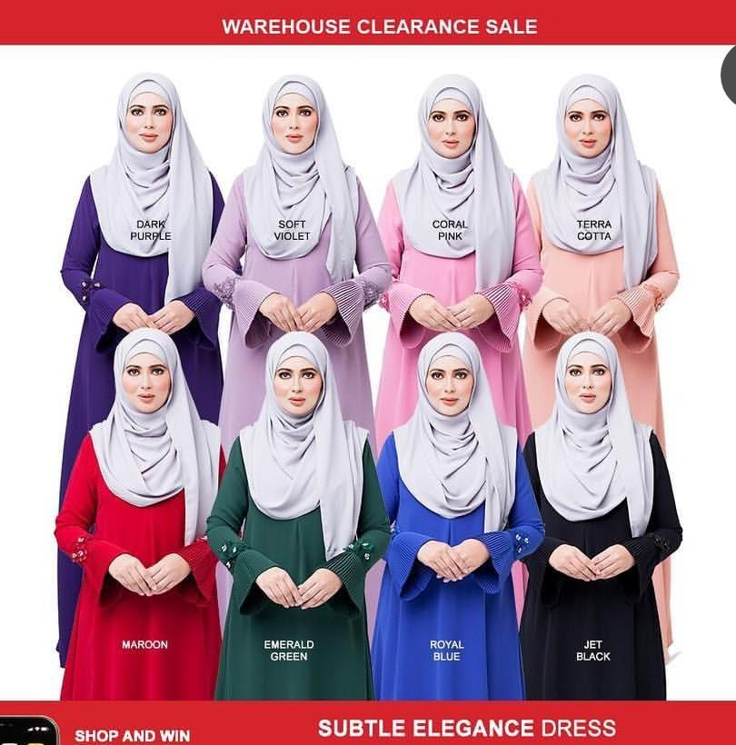 (Reduced Price !) Imaan Boutique Jubah (price reduced)