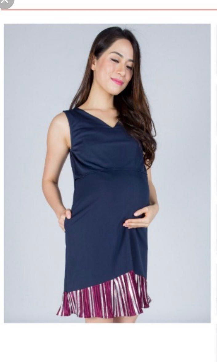 48883db43dd Jumpeatcry Maternity Nursing dress