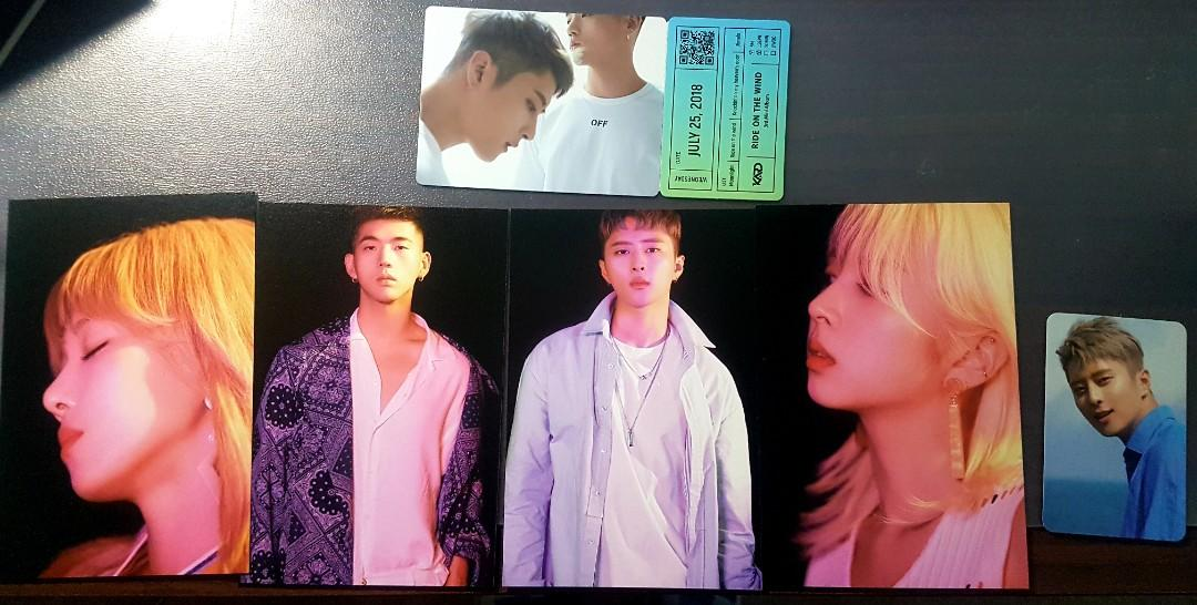 KARD Autographed All Signed Autographed KARD Ride On The Wind Kpop Album *PRICE DROP x4