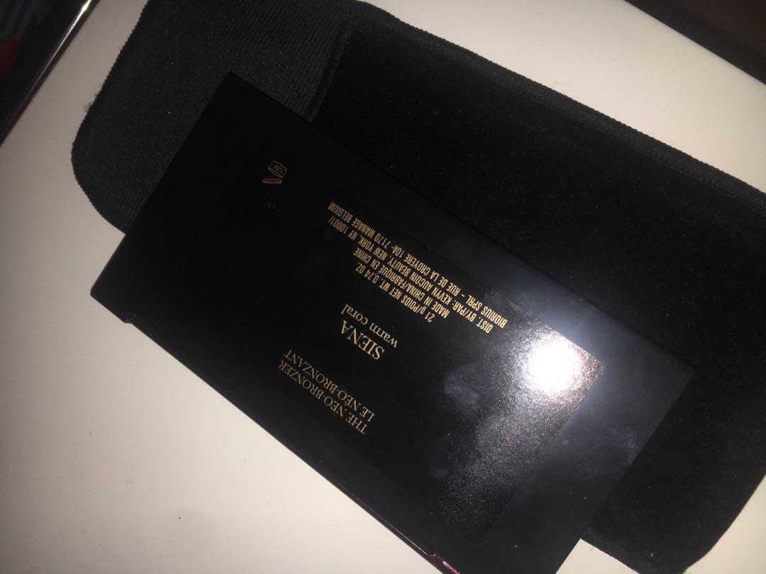Kevyn Aucoin bronzer highlighter blush palette Siena