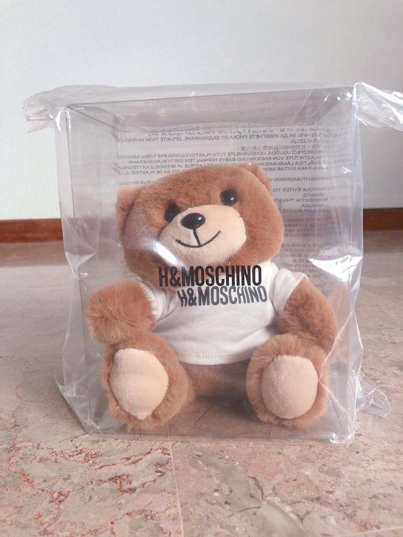 brand new 8d3a7 e3d66 LIMITED EDT H&M X Moschino teddy bear phone case
