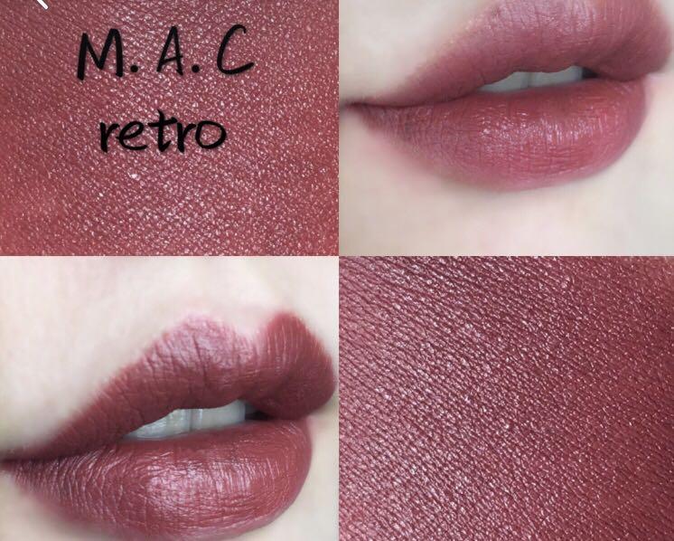 Mac sarin lipstick - retro, Health & Beauty, Makeup on Carousell