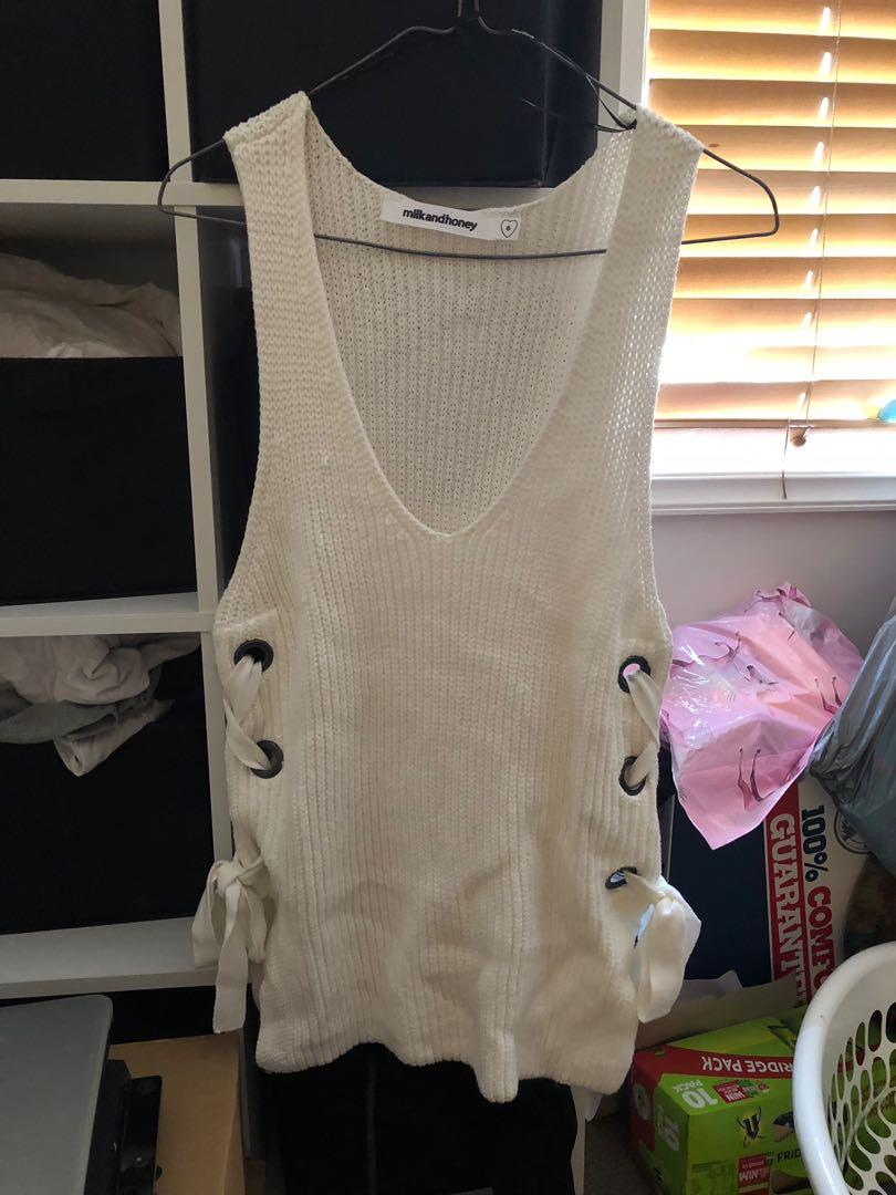 Milk and honey knit top