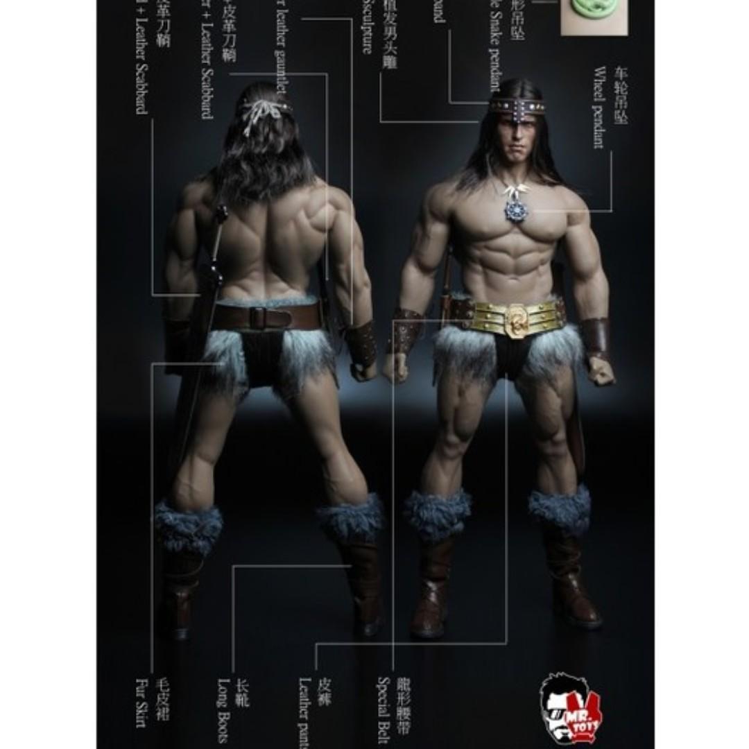 MR.TOYS MT2018-02 1/6 Scale Ancient Warrior Head sculpt + Costume Set