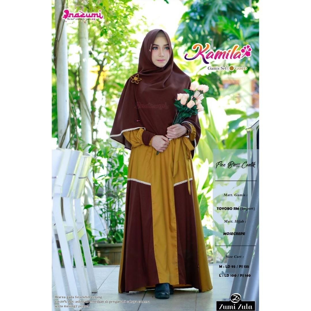 Nazumi Dress Fesyen Wanita Muslim Fashion Gaun Di Carousell