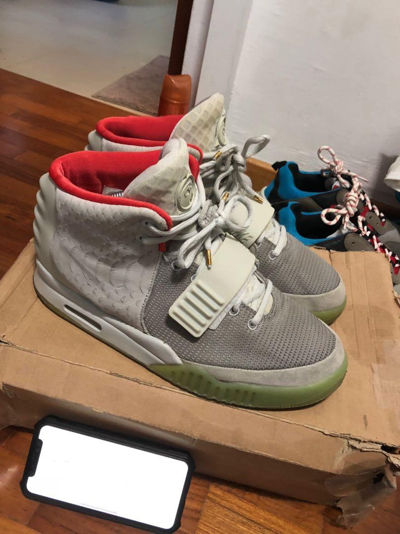 aaf3ca1e666dd Nike Air yeezy 2 pure platinum