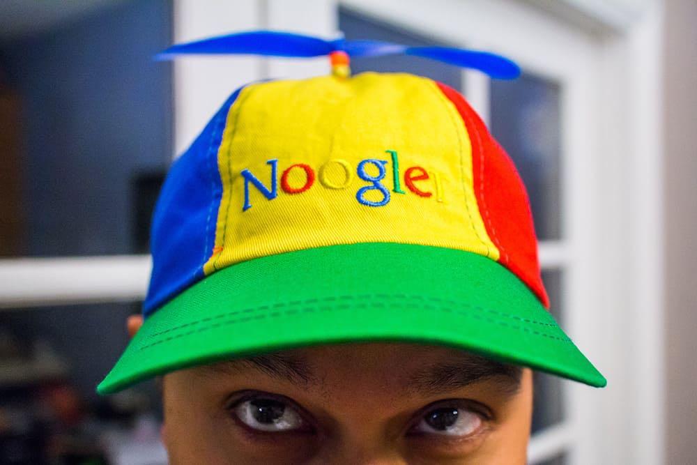 fcebd5f40bc Noogler propeller hat from Google