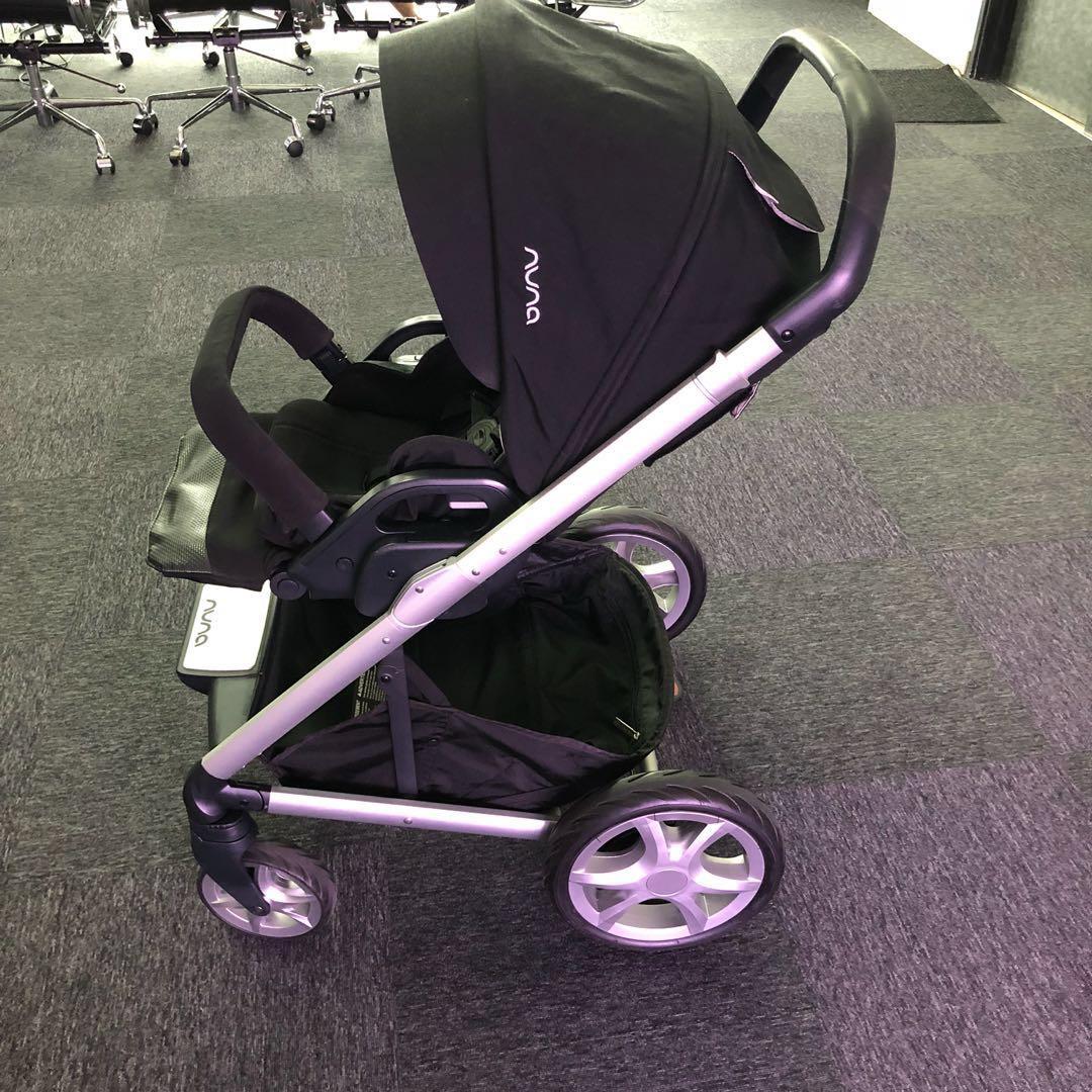 Nuna Mixx Stroller Nuna Pipa Car Seat