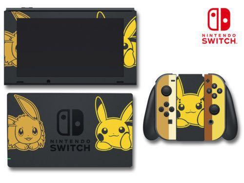Pokemon Lets Go Special Limited Edition Game Decal Skin For