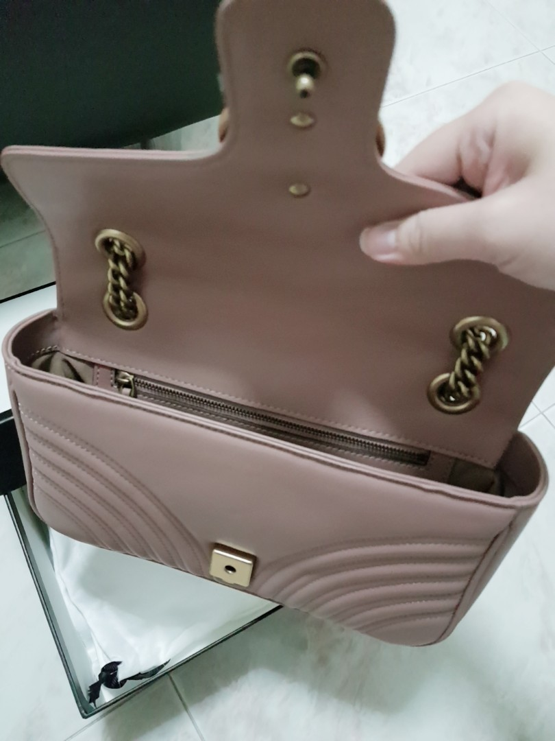 f6405f929183ee Fast deal Gucci marmont, Luxury, Bags & Wallets, Handbags on Carousell