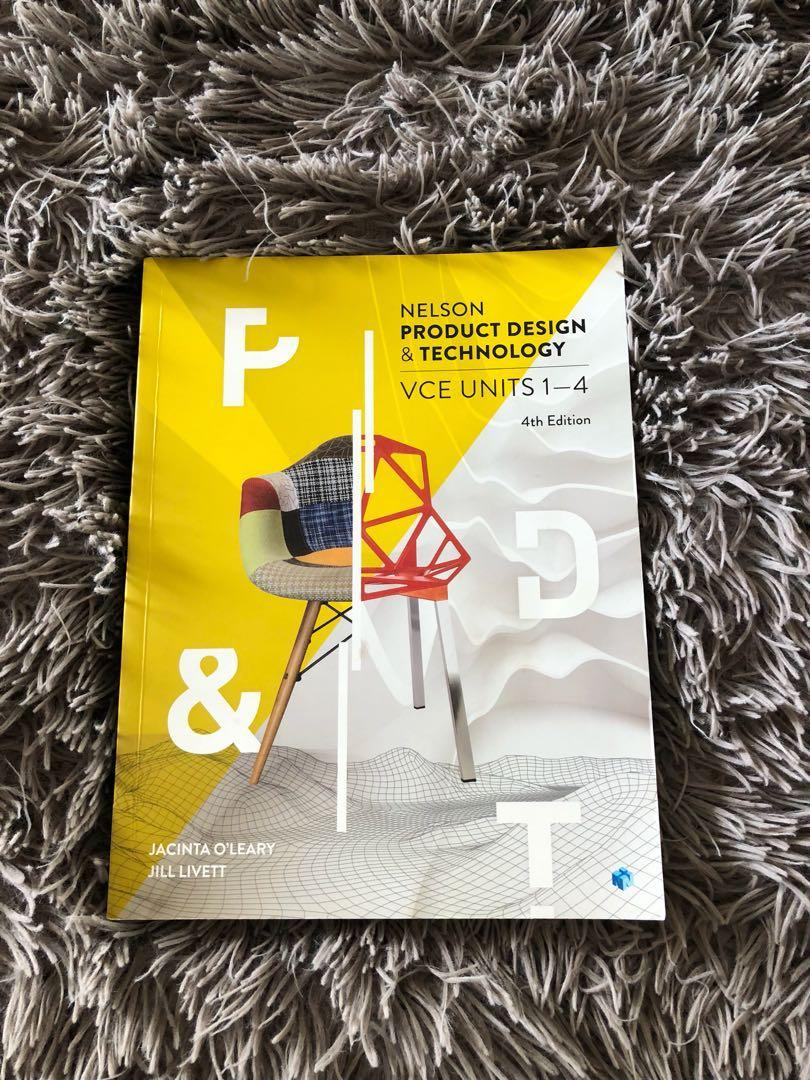Product design and technology VCE units 1-4 textbook