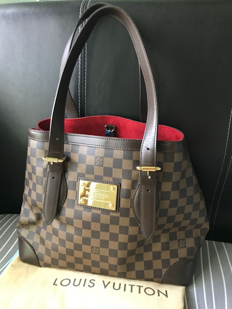 1d2801b0782437 Reduce price to let go Authentic LV Hampstead MM, Luxury, Bags ...
