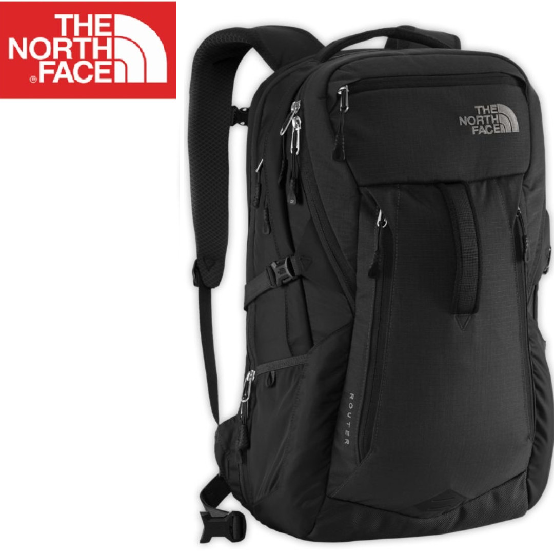 04529ac5c2 Router The North Face Backpack, Men's Fashion, Bags & Wallets ...
