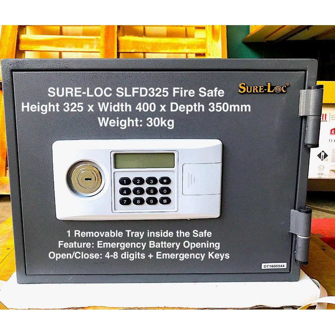 Selffix DIY Promo on Sure-Loc Fire Proof Safe