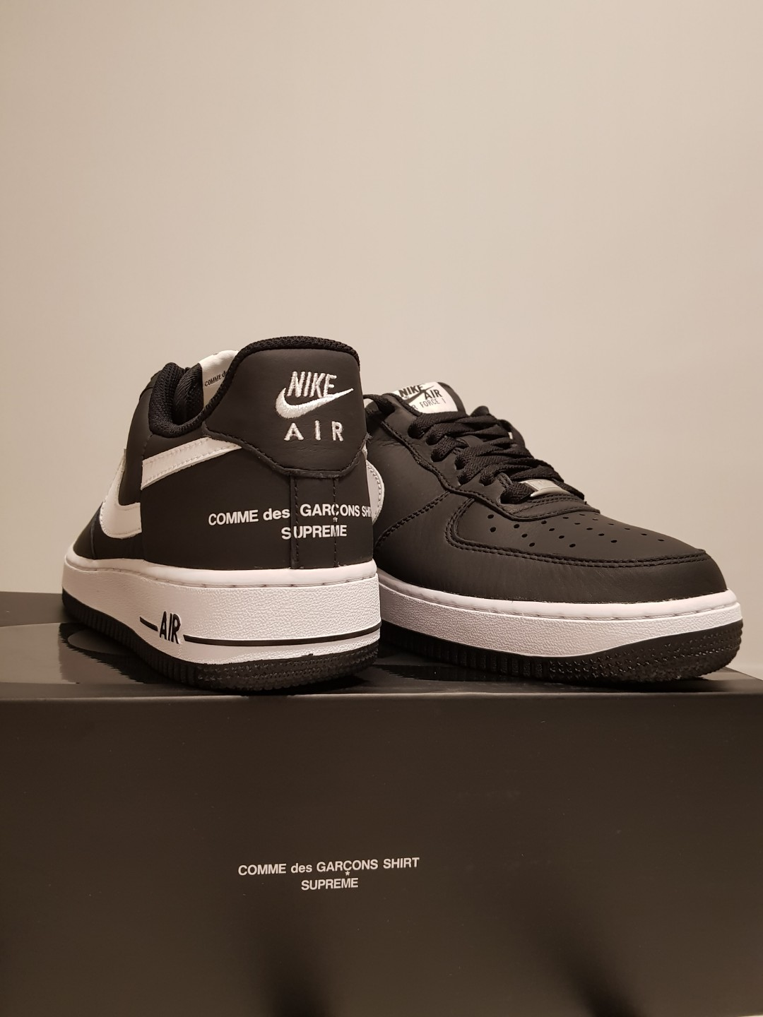 quality design 74637 22093 US7.5 Supreme x CDG Nike Air Force 1 Low